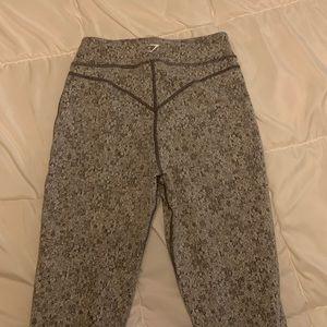 Small gymshark dry relaxed leggings